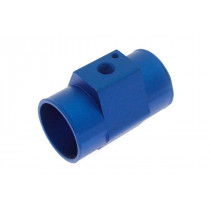 Vízhőfok szenzor adapter TurboWorks 36mm Kék